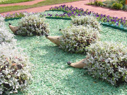 Фото украшений для сада своими руками