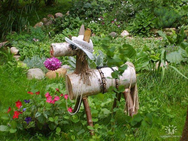 Поделки для дачи своими руками для сада и огорода 59